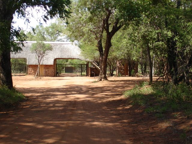 Farm Entrance Gate