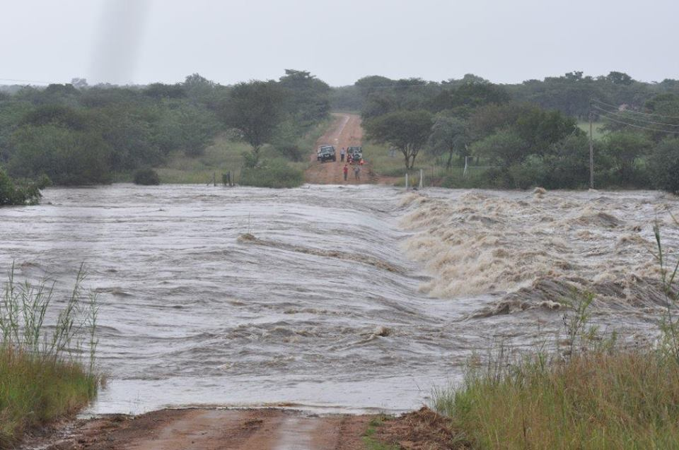 Mkolo River on Witfontein Road
